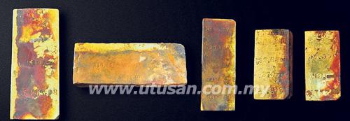 emas 30kg karam kapal
