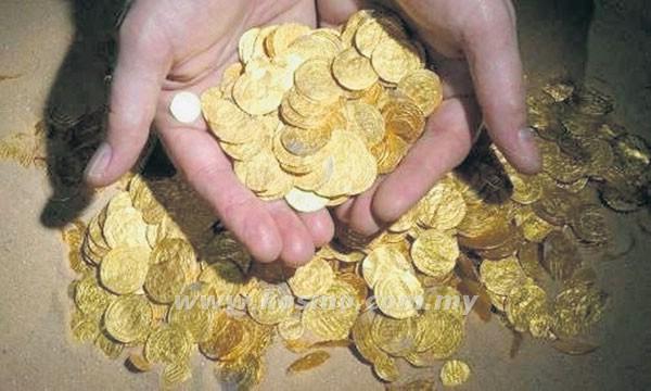 wang emas dinasti islam