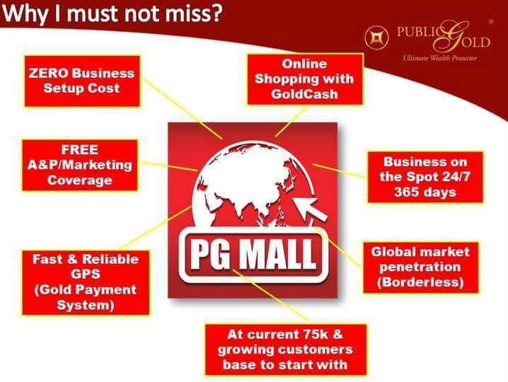 pg mall online