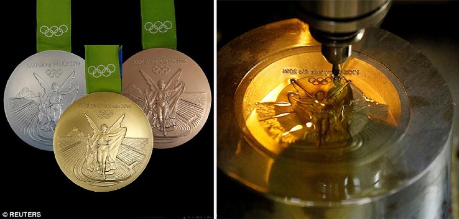 pingat emas olimpik